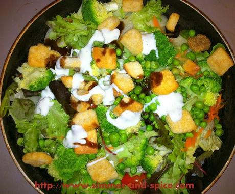 Healthy Green Salad