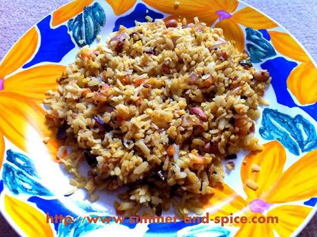 Poha ( Beaten Rice )