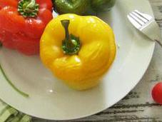 Bulgur Stuffed Bell Peppers