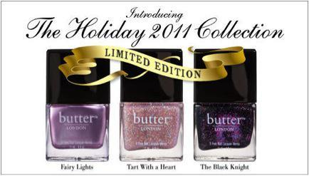 The Lady Gaga Of Nail Lacquer: Butter London Holiday Collection…
