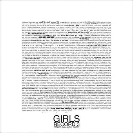 girls father song holy album cover TOP 25 ALBUMS OF 2011