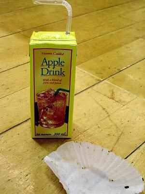 Are you avoiding apple juice?