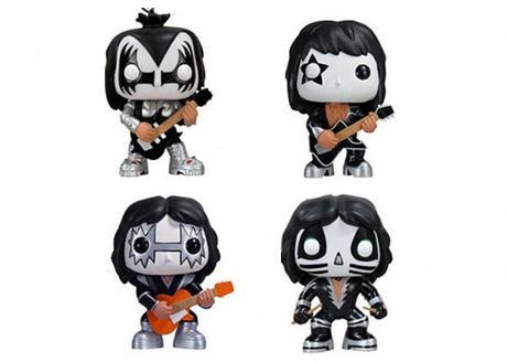 Get all 4 KISS characters in a set - Funko Pop! Rocks