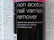 Salon Services Acetone Nail Varnish Remover