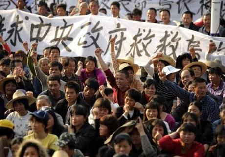 Wukan, South China, where villagers are standing up to corruption