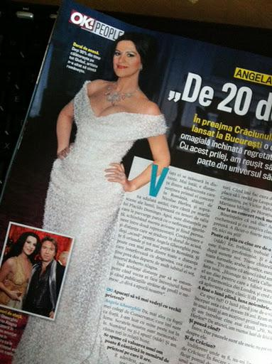 In OK Magazine Romania, December issue