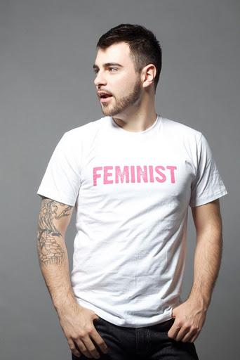 a message from a male feminist