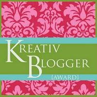THE KREATIV BLOGGER AWARD!!