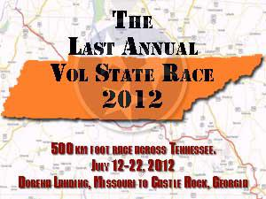 last annual vol state race 2012