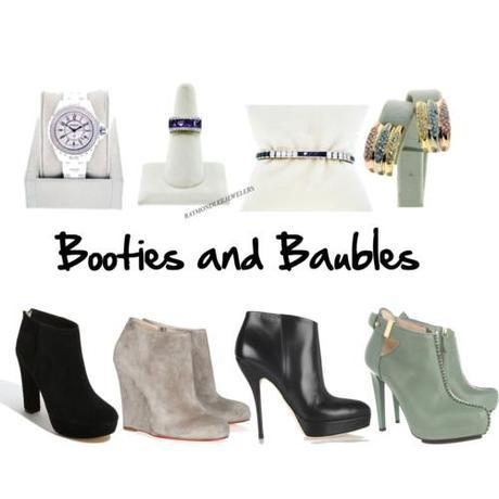 Tuesday Shoesday: Booties & Baubles