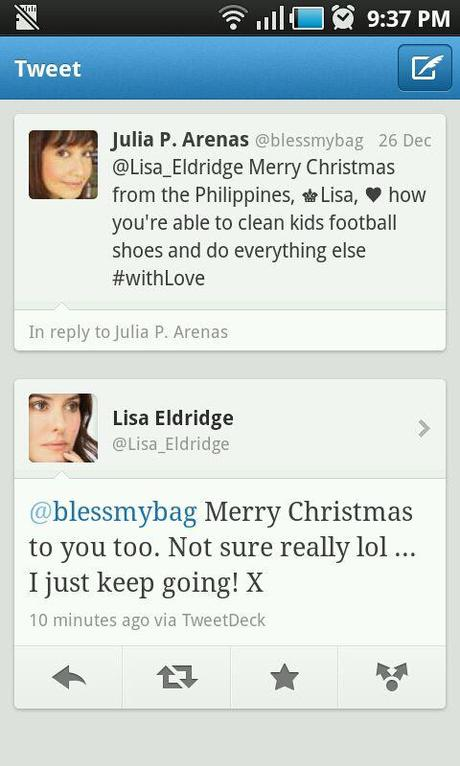 UK's Makeup Queen Lisa Eldridge says Merry Christmas!
