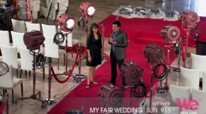 """Become a Top Wedding Planner – """"Old Hollywood Glamour"""" Themed Wedding Ideas from """"My Fair Wedding"""""""