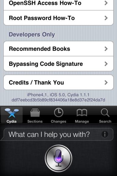 Spire : A Cydia Hack Brings Siri to Jailbroken iOS5 Devices