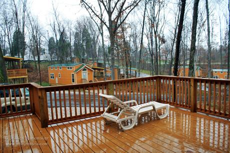 Lake Rudolph Campground and RV Resort: Christmas Cabins
