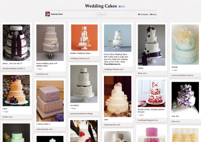 Top Wedding Pinterest Boards