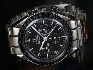 George Clooney's Watch American, george clooney, watch, omega, speedmaster professional