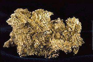 English: Crystaline Gold