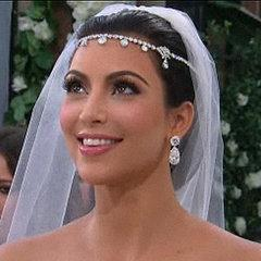 Kim Kardashian, diamond, wedding, tiara, wedding jewelry