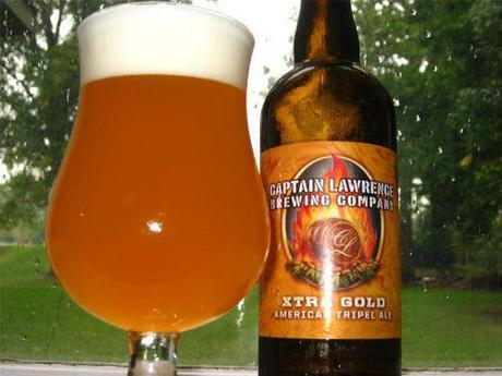 Beer Review – Captain Lawrence Xtra Gold American Tripel Ale