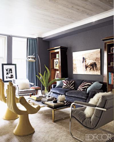 LIVING ROOM INSPIRATION: Euro Sophisticate