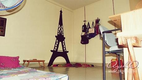 DIY: Eiffel Tower Silhouette Wall Decor - Paperblog