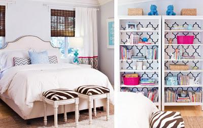 Bright Bedroom ♥ i Must Diy a Bookcase with This Design! - Paperblog