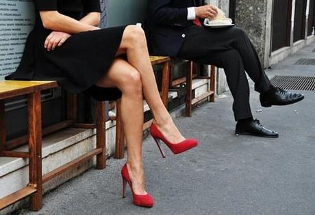 Red Pumps?  Yes, Please!