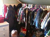 Parenting Thursday: Organizing Closets Clothes