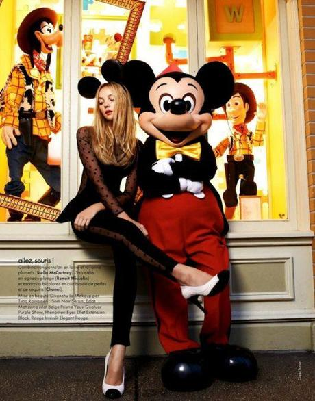 mickey, minnie, monsters & heather