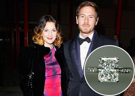Drew Barrymore's Engaegment Ring