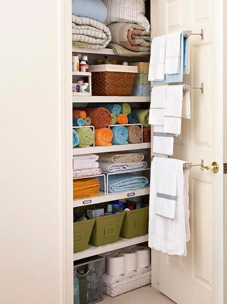 Bathroom Organization
