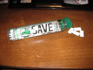 save the earth gum