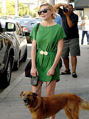 Kirsten Dunst, girlish tomboy to sophisticated lady