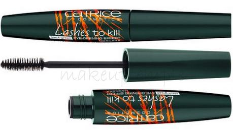 Lashes to Kill Mascara Black-Green Eye-Opening Effect Mascara