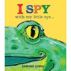 Book Sharing Monday:I spy with my little eye...