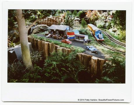 The Cider Barrel, Train Display at Brookside Gardens © 2014 Patty Hankins