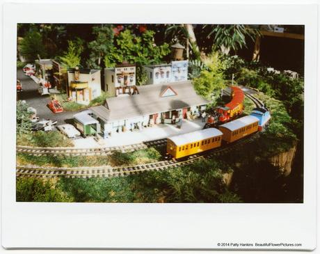 Kensington Train Station, Train Display at Brookside Gardens © 2014 Patty Hankins