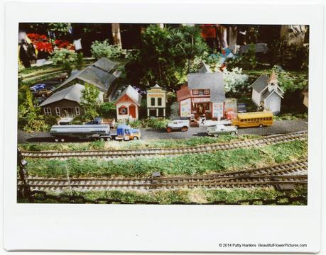 Main Street, Train Display at Brookside Gardens © 2014 Patty Hankins