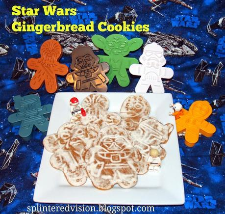 Star Wars Gingerbread Cookies and Christmas Wrap Up