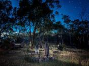 Under Moonlight, Queenstown Cemetery, Smiths Gully.