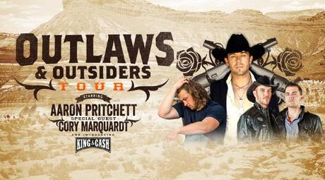 Outlaws-Outsiders featuring Aaron Pritchett, Cory Marquardt and King & Cash