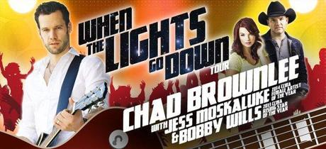 When The Lights Go Down Tour featuring Chad Brownlee, Jess Moskaluke and Bobby Wills