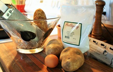 potato pancake ingredients