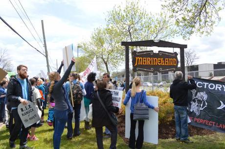 Marineland Protest