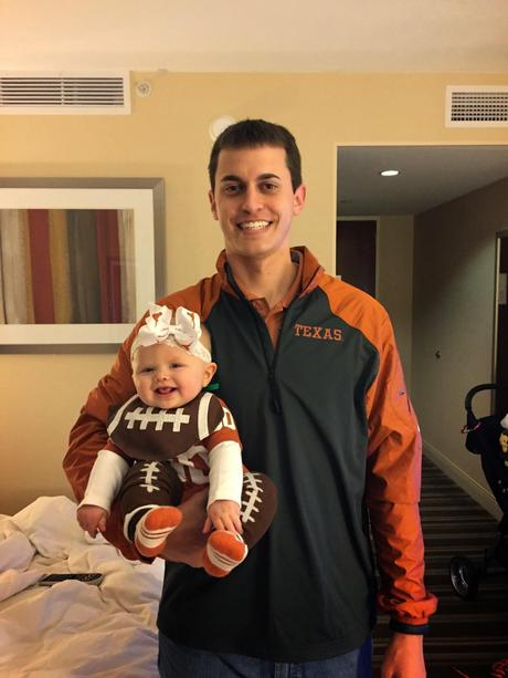 Christmas + A Trip To The Texas Bowl (picture book style)