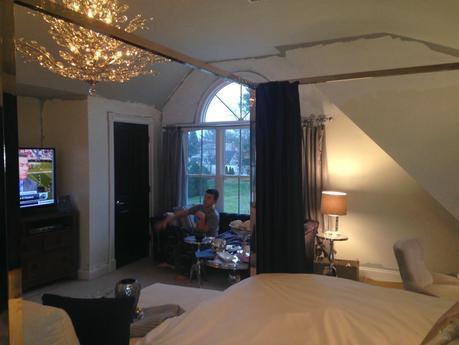 Master Bedroom Update - No More Celling fan!