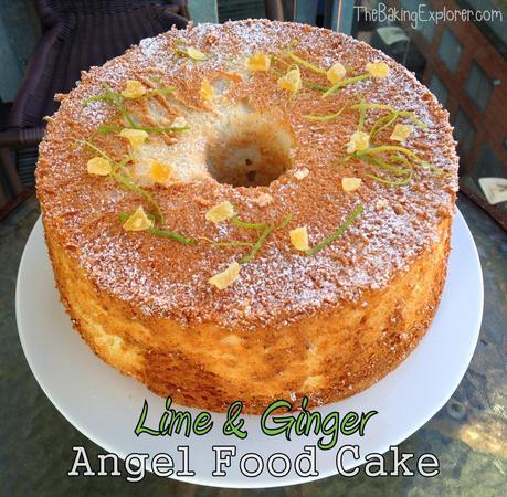 Lime & Ginger Angel Food Cake - Paperblog