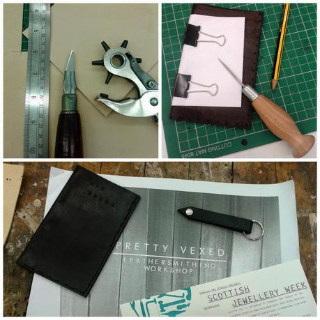 Pretty Vexed, Leatherwork, Leather Workshop, new skills, making things
