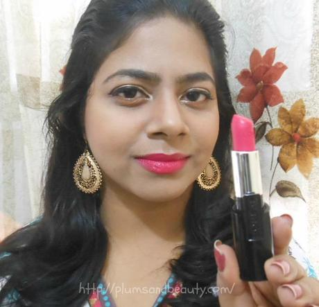 L'Oreal Infallible Le Rouge Lipstick Forever Fuchsia : Review, Swatch, FOTD, LOTD