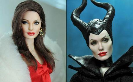 Artist Makes Cute Celebrity Dolls Out Of Ordinary Barbie